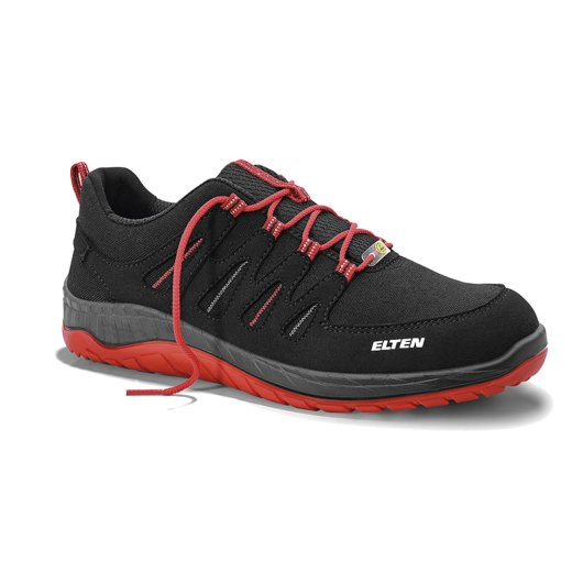 ELTEN Maddox Black-Red Low ESD S3