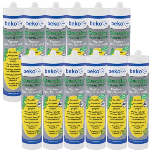 12x beko Gecko Hybrid POP 310 ml