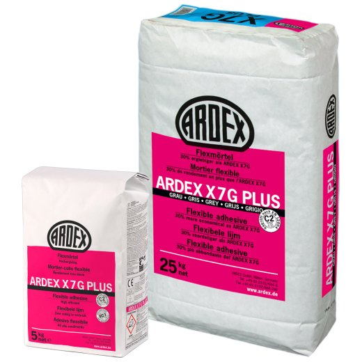 ARDEX X 7 G Plus Flexmörtel Fliesenkleber
