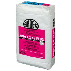 ARDEX X 7 G Plus Flexmörtel Fliesenkleber 25 kg Sack